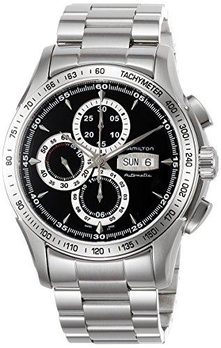 ハミルトン 腕時計 メンズ H32816131 【送料無料】Hamilton Men's H32816131 Lord Hamilton Black Day Date Chronograph Dial Watchハミルトン 腕時計 メンズ H32816131