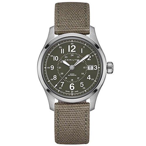 腕時計 ハミルトン メンズ 【送料無料】Men's Hamilton Khaki Field Automatic Military Watch H70595963腕時計 ハミルトン メンズ