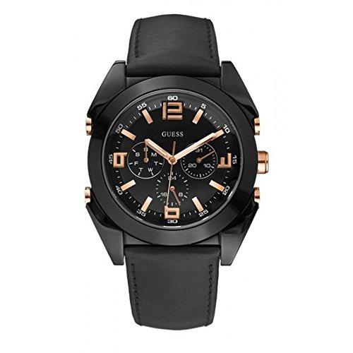 ゲス GUESS 腕時計 メンズ W13082G1 【送料無料】Guess Multi-Function Leather Band Mens Watch - W13082G1ゲス GUESS 腕時計 メンズ W13082G1