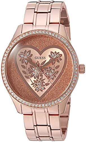 ゲス GUESS 腕時計 レディース U0910L3 【送料無料】GUESS Women's U0910L3 Trendy Rose Gold-Tone Watch with Rose Gold Dial and Stainless Steel Bandゲス GUESS 腕時計 レディース U0910L3