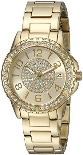ゲス GUESS 腕時計 レディース U0779L2 GUESS Crystal Accented Bracelet Watch with Date Function. Color: Gold-Tone (Model: U0779L2)ゲス GUESS 腕時計 レディース U0779L2