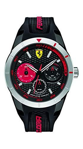 腕時計 フェラーリ メンズ 0830254 【送料無料】Ferrari 830254 'RED REV T MULTI' Quartz Resin and Silicone Watch腕時計 フェラーリ メンズ 0830254