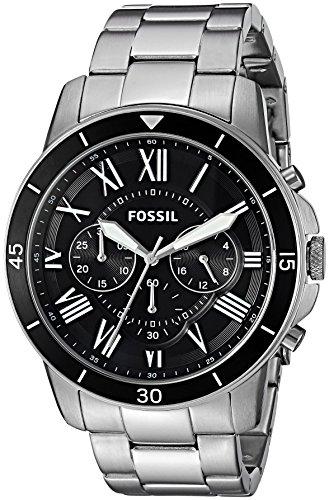 フォッシル 腕時計 メンズ FS5236 Fossil Mens FS5236 Grant Sport Chronograph Stainless Steel Watchフォッシル 腕時計 メンズ FS5236