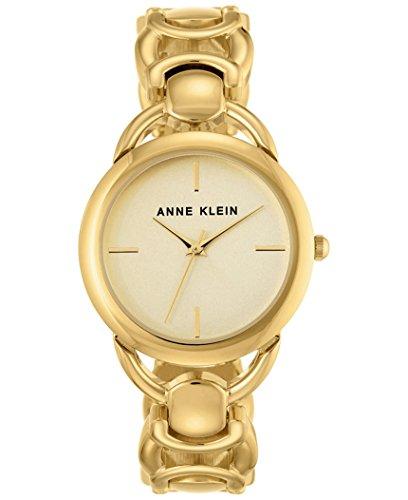 アンクライン 腕時計 レディース Anne Klein Women's Gold-Tone Bracelet Watch 36mm AK/2642CHGBアンクライン 腕時計 レディース