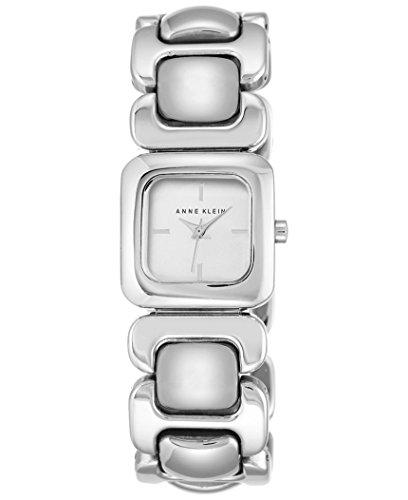 アンクライン 腕時計 レディース 00-ABWI9P-DE Anne Klein Women's Silver-Tone Bracelet Watch 26mm AK/2651SVSVアンクライン 腕時計 レディース 00-ABWI9P-DE