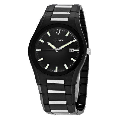 ブローバ 腕時計 メンズ 98B126 Bulova Men's 98B126 Black Dial Bracelet Watchブローバ 腕時計 メンズ 98B126