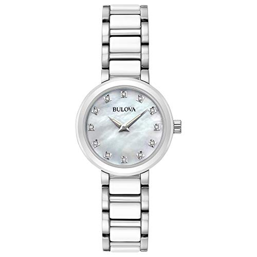 ブローバ 腕時計 レディース 98P158 Bulova Women's Analog-Quartz Watch with Stainless-Steel Strap, Silver, 14 (Model: 98P158)ブローバ 腕時計 レディース 98P158