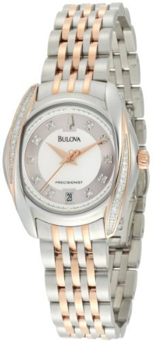 ブローバ 腕時計 レディース 98R141 Bulova Women's 98R141 Precisionist Tanglewood Diamond Two-Tone Bracelet Watchブローバ 腕時計 レディース 98R141