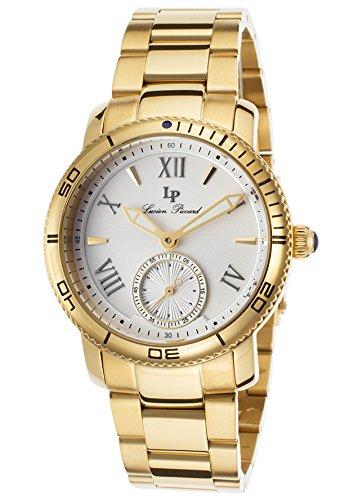 ルシアンピカール 腕時計 レディース 40031-YG-22S Lucien Piccard Women's 40031-YG-22S Misty Rose Analog Display Quartz Gold Watchルシアンピカール 腕時計 レディース 40031-YG-22S
