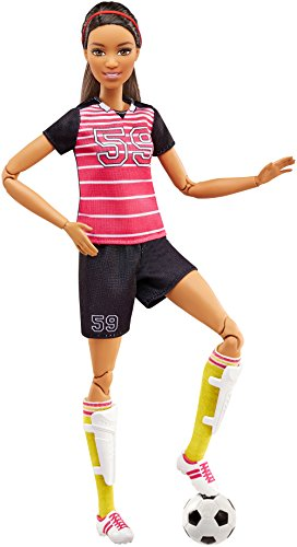 a0e7c555d4 バービー バービー人形 メイドトゥームーブ 関節 動く FCX82 Barbie Careers Made to Move Soccer Player  Dollバービー バービー人形 メイドトゥームーブ 関節 動く ...