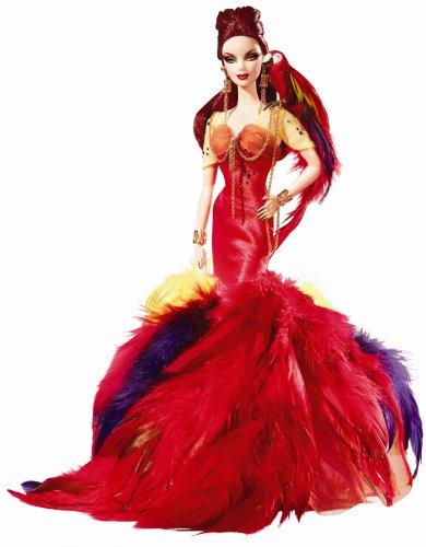 バービー バービー人形 バービーコレクター コレクタブルバービー プラチナレーベル L9659 Barbie Exclusive 2008 GOLD Label - The Scarlet Macawバービー バービー人形 バービーコレクター コレクタブルバービー プラチナレーベル L9659