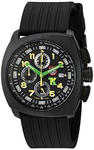 ルミノックス アメリカ海軍SEAL部隊 ミリタリーウォッチ 腕時計 メンズ 1101 【送料無料】Luminox Men's 1101 Tony Kanaan Analog Swiss Quartz Resin Rubber Watch, Blackルミノックス アメリカ海軍SEAL部隊 ミリタリーウォッチ 腕時計 メンズ 1101