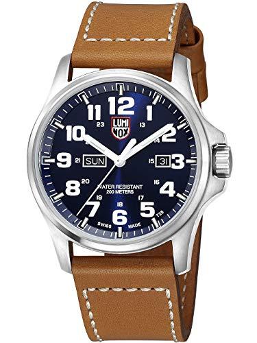 ルミノックス アメリカ海軍SEAL部隊 ミリタリーウォッチ 腕時計 メンズ A.1924 【送料無料】Luminox Atacama Blue Dial Stainless Steel Leather Quartz Men's Watch 1924ルミノックス アメリカ海軍SEAL部隊 ミリタリーウォッチ 腕時計 メンズ A.1924