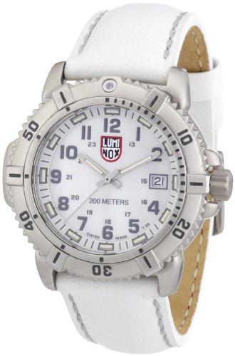ルミノックス アメリカ海軍SEAL部隊 ミリタリーウォッチ 腕時計 レディース A.7257 【送料無料】Luminox Women's A.7257 ModernMarine Analog Display Quartz White Watchルミノックス アメリカ海軍SEAL部隊 ミリタリーウォッチ 腕時計 レディース A.7257