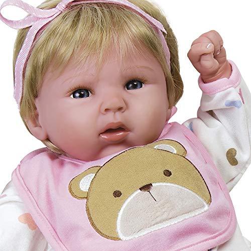 パラダイスギャラリーズ 赤ちゃん リアル 本物そっくり おままごと 21002100 Paradise Galleries Reborn Baby Doll That Looks Real Happy Teddy, 19 inch Girl in GentleTouch Vinyl, Safetyパラダイスギャラリーズ 赤ちゃん リアル 本物そっくり おままごと 21002100
