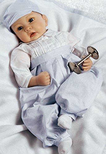 パラダイスギャラリーズ 赤ちゃん リアル 本物そっくり おままごと 21057700 Paradise Galleries Reborn Baby Boy in Silicone Vinyl, 22 inch Newborn Doll Royal Baby Prince George, 5-Pieパラダイスギャラリーズ 赤ちゃん リアル 本物そっくり おままごと 21057700