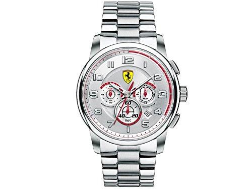 フェラーリ 腕時計 メンズ 0830055 Ferrari Men's 0830055 Analog Display Japanese Quartz Silver Watchフェラーリ 腕時計 メンズ 0830055
