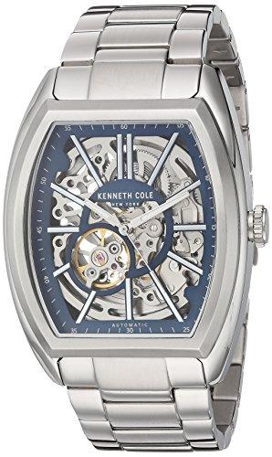ケネスコール・ニューヨーク Kenneth Cole New York 腕時計 メンズ 10030812 Kenneth Cole New York Men's Automatic-self-Wind Watch with Stainless-Steel Strap, Silver, 12 (Model: 10030ケネスコール・ニューヨーク Kenneth Cole New York 腕時計 メンズ 10030812