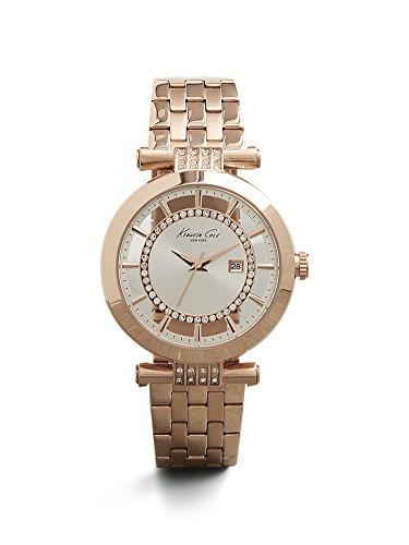ケネスコール・ニューヨーク Kenneth Cole New York 腕時計 レディース 10021106 Kenneth Cole New York Women's 10021106 Transparency Digital Display Japanese Quartz Rose Gold Watcケネスコール・ニューヨーク Kenneth Cole New York 腕時計 レディース 10021106