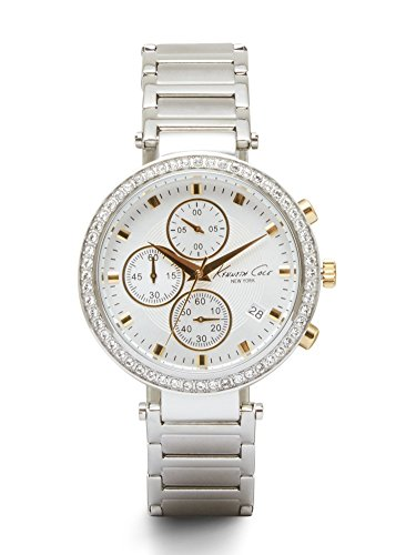 ケネスコール・ニューヨーク Kenneth Cole New York 腕時計 レディース 10019755 Kenneth Cole New York Women's 10019755 Stainless Steel Chronograph Watch (Amazon Exclusive)ケネスコール・ニューヨーク Kenneth Cole New York 腕時計 レディース 10019755