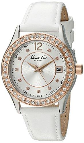 ケネスコール・ニューヨーク Kenneth Cole New York 腕時計 レディース 10020850 Kenneth Cole New York Women's 10020850 Classic Analog Display Japanese Quartz White Watchケネスコール・ニューヨーク Kenneth Cole New York 腕時計 レディース 10020850