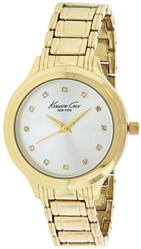 ケネスコール・ニューヨーク Kenneth Cole New York 腕時計 レディース 10029557 【送料無料】Kenneth Cole New York Gold-Tone Ladies Watch 10029557ケネスコール・ニューヨーク Kenneth Cole New York 腕時計 レディース 10029557
