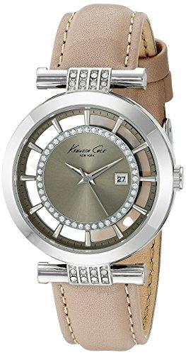 ケネスコール・ニューヨーク Kenneth Cole New York 腕時計 レディース 10021104 Kenneth Cole New York Women's 'Transparency' Quartz Stainless Steel and Leather Dress Watch, Colorケネスコール・ニューヨーク Kenneth Cole New York 腕時計 レディース 10021104