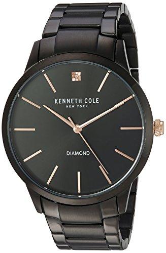 腕時計 ケネスコール・ニューヨーク Kenneth Cole New York メンズ KC15111004 【送料無料】Kenneth Cole New York Men's Quartz Stainless Steel Case Genuine Solid Link Bracelet 腕時計 ケネスコール・ニューヨーク Kenneth Cole New York メンズ KC15111004