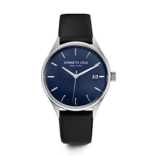 ケネスコール・ニューヨーク Kenneth Cole New York 腕時計 メンズ 10030836 【送料無料】Kenneth Cole New York Men's Classic Stainless Steel Japanese-Quartz Watch with Leather Cケネスコール・ニューヨーク Kenneth Cole New York 腕時計 メンズ 10030836