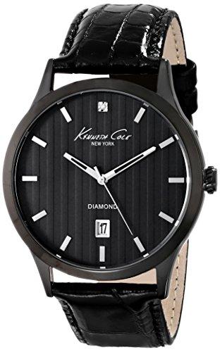 腕時計 ケネスコール・ニューヨーク Kenneth Cole New York メンズ KC8071 【送料無料】Kenneth Cole New York Men's KC8071 Rock Out Analog Display Analog Quartz Black Watch腕時計 ケネスコール・ニューヨーク Kenneth Cole New York メンズ KC8071