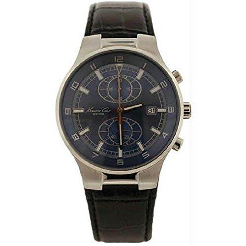 ケネスコール・ニューヨーク Kenneth Cole New York 腕時計 メンズ KC1538 【送料無料】Kenneth Cole New York Leather Collection Chrono Blue Dial Men's watch #KC1538ケネスコール・ニューヨーク Kenneth Cole New York 腕時計 メンズ KC1538