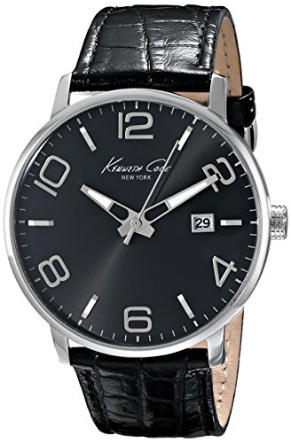 ケネスコール・ニューヨーク Kenneth Cole New York 腕時計 メンズ KC8005 【送料無料】Kenneth Cole New York Men's KC8005 Dress Sport Black Dial Black Strap Analog Watchケネスコール・ニューヨーク Kenneth Cole New York 腕時計 メンズ KC8005