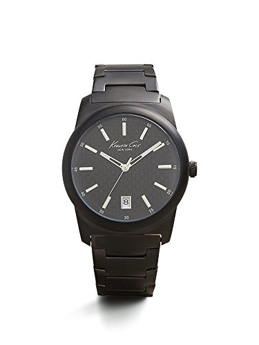 腕時計 ケネスコール・ニューヨーク Kenneth Cole New York メンズ 10025895 【送料無料】Kenneth Cole New York Men's 10025895 Classic Analog Display Japanese Quartz Black Watch腕時計 ケネスコール・ニューヨーク Kenneth Cole New York メンズ 10025895