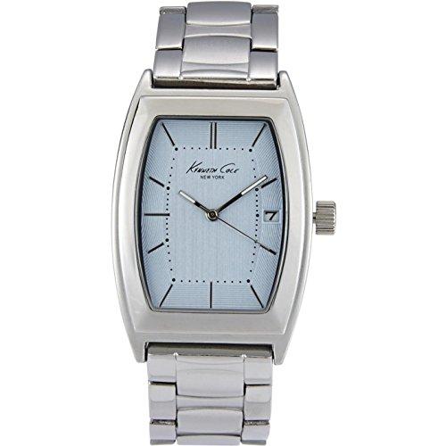 ケネスコール・ニューヨーク Kenneth Cole New York 腕時計 メンズ 10019425 Kenneth Cole New York Men's Silvertone Barrel Link Watchケネスコール・ニューヨーク Kenneth Cole New York 腕時計 メンズ 10019425
