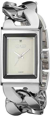 SO&CO ニューヨーク 腕時計 レディース 5094.1 SO&CO New York Women's 'SoHo' Quartz Metal and Stainless Steel Dress Watch, Color:Silver-Toned (Model: 5094.1)SO&CO ニューヨーク 腕時計 レディース 5094.1