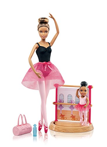 バービー バービー人形 バービーキャリア バービーアイキャンビー 職業 DVG16 【送料無料】Barbie Careers Ballet Instructor Playsetバービー バービー人形 バービーキャリア バービーアイキャンビー 職業 DVG16