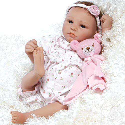 パラダイスギャラリーズ 赤ちゃん リアル 本物そっくり おままごと Paradise Galleries Lifelike & Realistic Newborn Reborn Baby Doll, Bundle of Joy, 18-inch Weighted Baby in GentleTouch Vinyl,パラダイスギャラリーズ 赤ちゃん リアル 本物そっくり おままごと