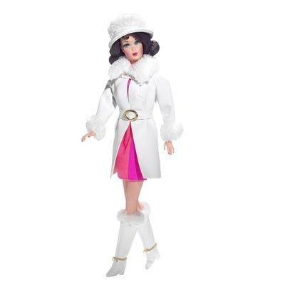 バービー バービー人形 バービーコレクター コレクタブルバービー プラチナレーベル Barbie Red, White 'n' Warm&trade Doll (Gold Labelバービー バービー人形 バービーコレクター コレクタブルバービー プラチナレーベル