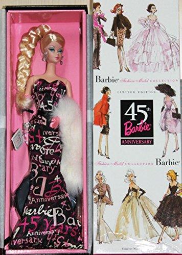バービー バービー人形 バービーコレクター コレクタブルバービー プラチナレーベル B8955 【送料無料】Mattel Silkstone 45th Anniversary Barbie - BFMC Collectionバービー バービー人形 バービーコレクター コレクタブルバービー プラチナレーベル B8955