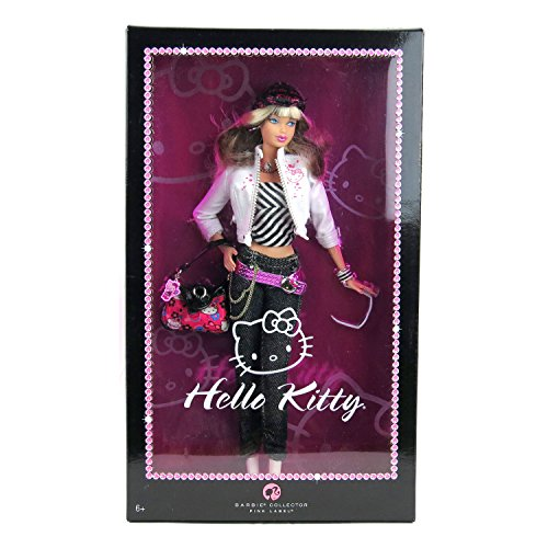 バービー バービー人形 バービーコレクター コレクタブルバービー プラチナレーベル Barbie Mattel Year 2007 Pink Label Collector Series 12 Inch Doll - HELLO KITTY with Jacket, バービー バービー人形 バービーコレクター コレクタブルバービー プラチナレーベル
