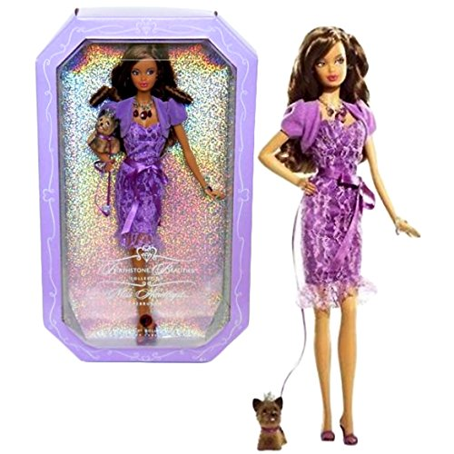 バービー バービー人形 バースストーン 誕生石 12カ月 Mattel Year 2007 Barbie Pink Label Birthstone Beauties Collection Series 12 Inch Doll - Miss Amethyst February (African American Version) with Amethバービー バービー人形 バースストーン 誕生石 12カ月