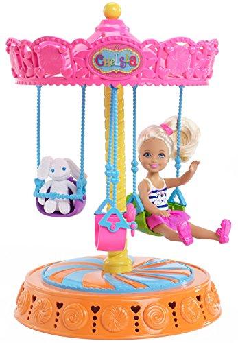 数量限定価格!! バービー バービー人形 Dollバービー チェルシー スキッパー ステイシー with DMR63 Barbie チェルシー Chelsea Carousel Swing with Dollバービー バービー人形 チェルシー スキッパー ステイシー DMR63, フジミシ:127f1a0a --- wktrebaseleghe.com