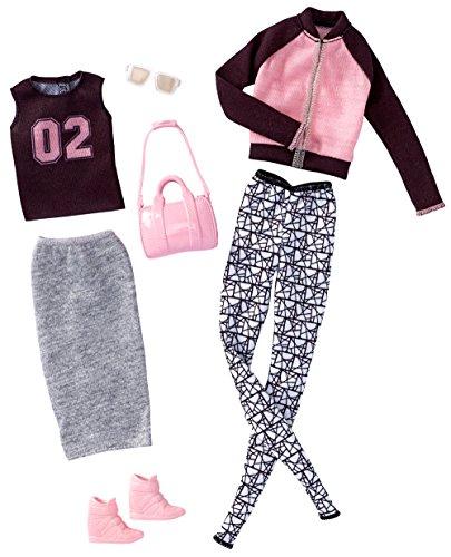 バービー バービー人形 着せ替え 衣装 ドレス FCT95 Barbie Fashions Athlesure, 2 Pack - Tallバービー バービー人形 着せ替え 衣装 ドレス FCT95