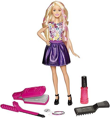 バービー バービー人形 日本未発売 プレイセット アクセサリ DWK49 Barbie D.I.Y. Crimps & Curls Doll, Blondeバービー バービー人形 日本未発売 プレイセット アクセサリ DWK49