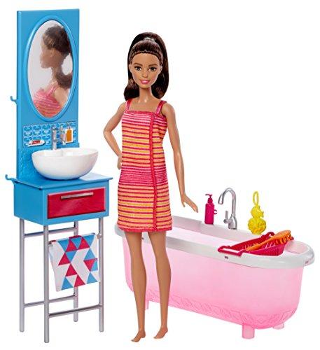 バービー バービー人形 日本未発売 プレイセット アクセサリ DVX53 【送料無料】Barbie Bathroom & Dollバービー バービー人形 日本未発売 プレイセット アクセサリ DVX53