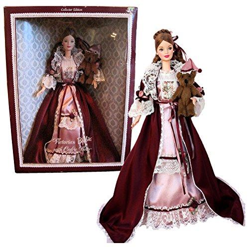 バービー バービー人形 バービーコレクター コレクタブルバービー プラチナレーベル Mattel Year 1999 Barbie Collector Edition 12 Inch Doll Set - VICTORIAN BARBIE with Cedric Beバービー バービー人形 バービーコレクター コレクタブルバービー プラチナレーベル