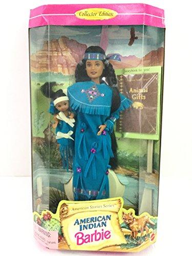 バービー バービー人形 バービーコレクター コレクタブルバービー プラチナレーベル 17313 【送料無料】American Indian Barbie Doll