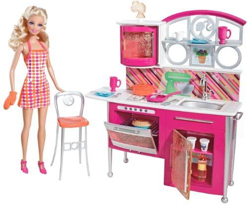 バービー バービー人形 日本未発売 プレイセット アクセサリ T8014 Barbie Stovetop To Tabletop Deluxe Kitchen and Doll Setバービー バービー人形 日本未発売 プレイセット アクセサリ T8014