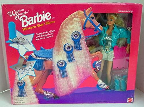 バービー バービー人形 日本未発売 プレイセット アクセサリ 11020 Barbie Western Stampin Doll and Western Star Horse Set (1993)バービー バービー人形 日本未発売 プレイセット アクセサリ 11020