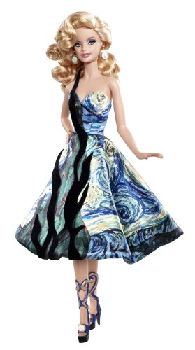 バービー バービー人形 バービーコレクター コレクタブルバービー プラチナレーベル V0445 Barbie Collector Museum Collection Van Gogh Dollバービー バービー人形 バービーコレクター コレクタブルバービー プラチナレーベル V0445
